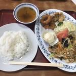 中国飯店紀淡 - 料理写真:日替わり定食