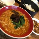 114016471 - 坦々麺ご飯セット