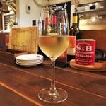長堀ダイナー - 白ワイングラス シャブリ