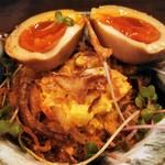 長堀ダイナー - ポテトサラダ~半熟卵のせ~