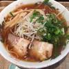 ななしや - 料理写真:らーめん610円。 ストレート麺は風味よく美味しい