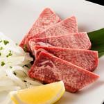 焼肉白李 - 料理写真:厚切りタン