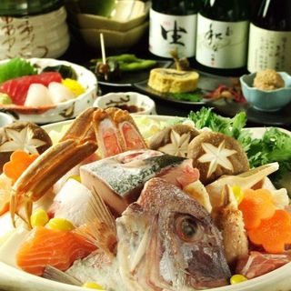 季節の食材を日替わりで使用したコースは3,500円からご用意