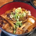 肉工房 千里屋 ホルモンバル - ホルモン丼