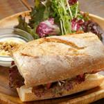 イダキ カフェ - サンドイッチプレート