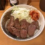丼やまの - 和牛ロース丼(ライス大盛)