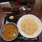 114038094 - 味玉担々つけ麺+トッピングチャーシュー