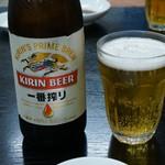 大丸焼肉店 - ドリンク写真:瓶ビール