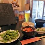 網走ビール館 - 晩酌ちょい飲みセット