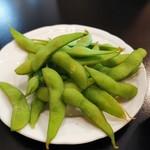 網走ビール館 - 枝豆