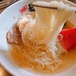 やまなか家 - 盛岡冷麺 別辛 750円