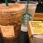 スターバックス・コーヒー - ◆ダークモカチップフラペチーノ+ホイップクリーム無し+ノンファットミルク(無脂肪)+エスプレッソショット=648円