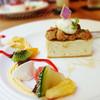 ル・カフェ・デュ・ボヌール - 料理写真:ブルーチーズケーキ