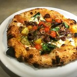 400℃ PIZZA - 料理写真:pizza olive