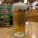 味餃子専門店 味奉行 - 生ビール(中)