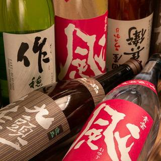 """三重を代表する銘酒""""作""""をはじめ、貝と好相性な日本酒を厳選!"""