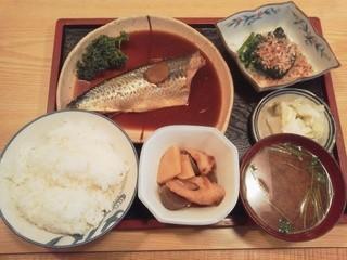 勢津 - さまみそ煮定食