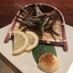 男前料理と五島列島直送の魚 京ばし 無花果 -