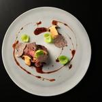 スカイレストラン634 - 料理写真:ディナー肉料理