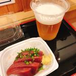 味の笛 - カツオの刺身  350円
