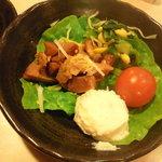 宝島 - 料理写真:最初の料理 これが出た後注文開始。 カーン!