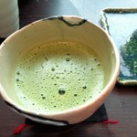 香炉庵 茶寮 - 抹茶付き1100円