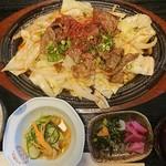 114081461 - 米沢牛焼き肉鉄板焼定食