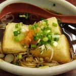 巣鴨ときわ食堂 - 揚げだし豆腐 ミニ盛り