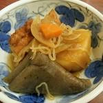 巣鴨ときわ食堂 - 本日の煮物 3種盛り合わせ