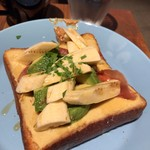 THE CITY BAKERY - アボカド バナナ トースト