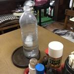 ジャンボ亭 - 氷入りペットボトル こんなん好っきやゎ〜