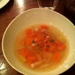 ポロン ポロン - 日替わりランチ850円(スープ)