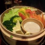 tachihikokicchinsanichimaru - 蒸し野菜のバーニャカウダー