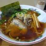 ぎょうざ家 ひろ - 2012年1月 醤油ラーメン500円