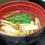 花水木 - 味噌汁 ( 牛カルビ焼き定食 ) 2019/08/16