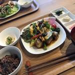 繭久里カフェ - 定食