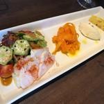 ラ・ギアンダ - 料理写真:前菜の盛り合わせ