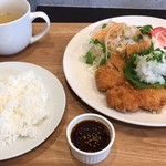 洋食ダイニング 集 - 料理写真:和風おろしとんかつ