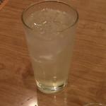 おでん居酒屋 三幸 - ゆずレモンはちみつ