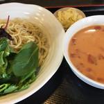 麺屋KENJU - チリトマトのつけ麺 ¥850