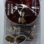 かどの駄菓子屋 フジバンビ フレスタ熊本西館店 - 黒糖ドーナッツ棒です。パッケージです。(その1)