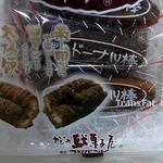 かどの駄菓子屋 フジバンビ フレスタ熊本西館店 - 黒糖ドーナッツ棒です。パッケージです。(その3)