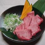 万福苑 - 料理写真:厚切り上タン塩