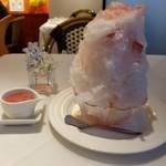 114100042 - 桃かき氷