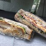 パンドール - 料理写真:サンドウィッチ 2種