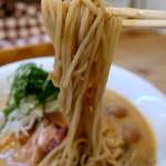 The Noodles & Saloon Kiriya - 冷やしNiboshi_nattou(950円)