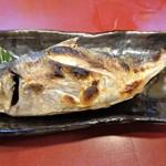 友廣 - アジの塩焼き 780円