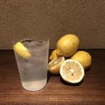 お好み焼き いまり - ドリンク写真:いまりのレモン酎