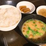 114115460 - 焼餃子定食