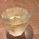 タンドール料理ひつじや - アルゼンチンのワイン(少し飲んだ後)